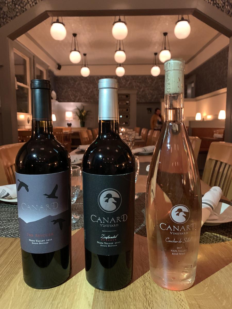 Canard Vineyard Calistoga