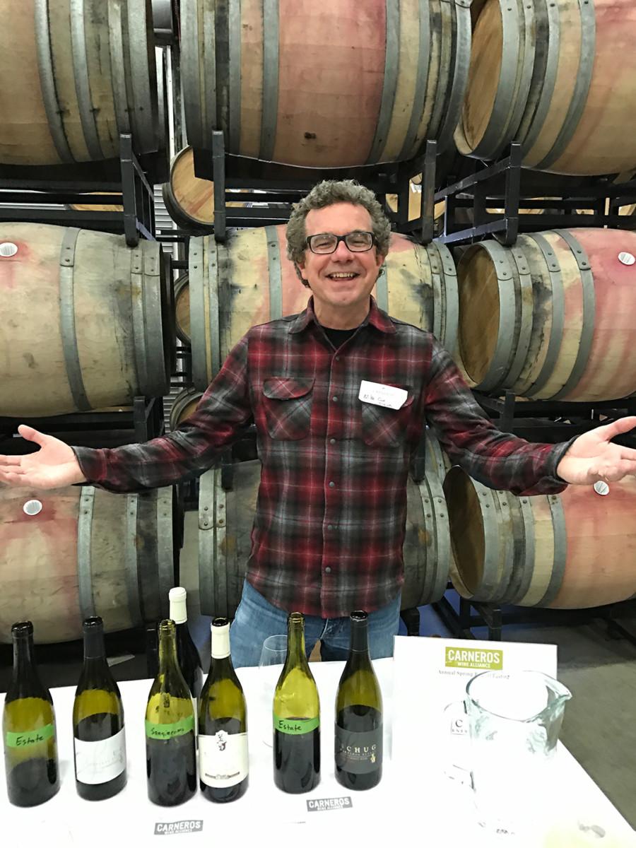 Carneros Wine Alliance Barrel Tasting