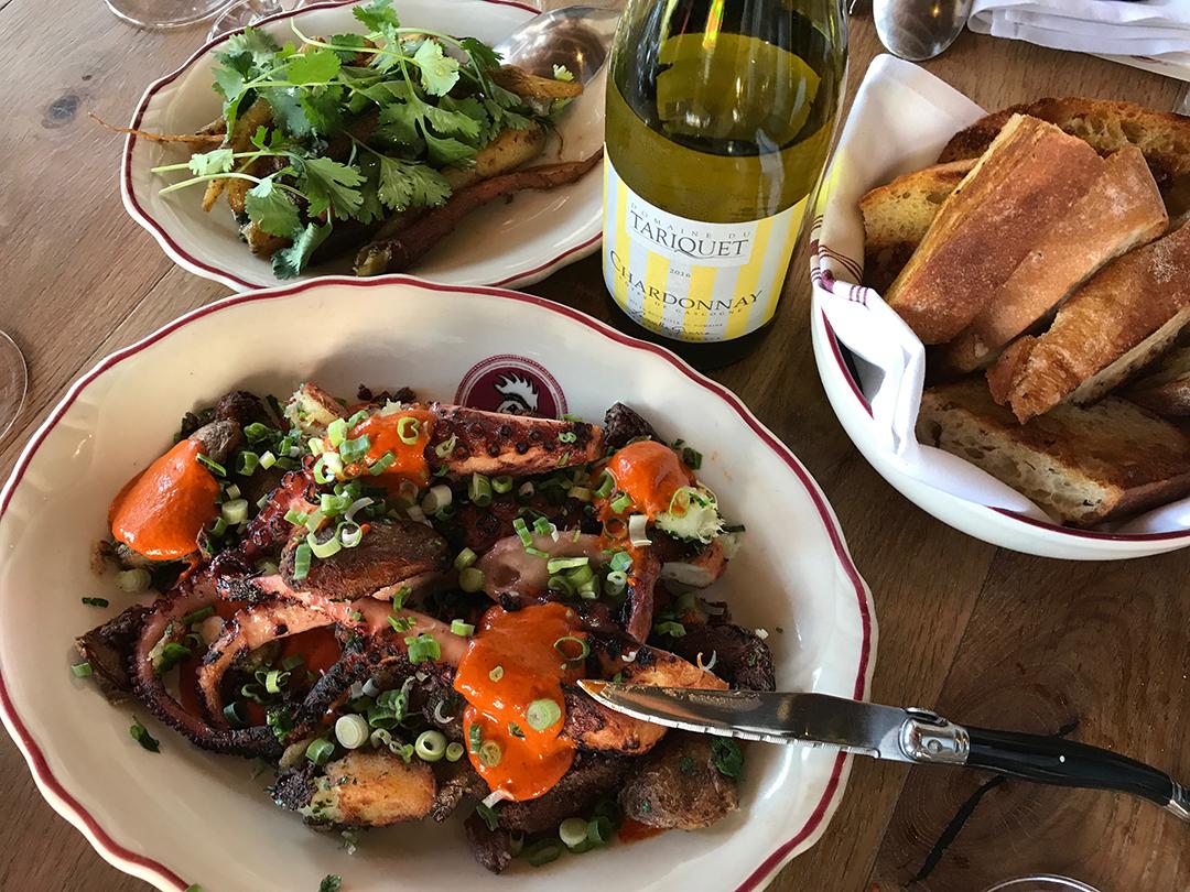 Chateau Du Tariquet Cockscomb Lunch