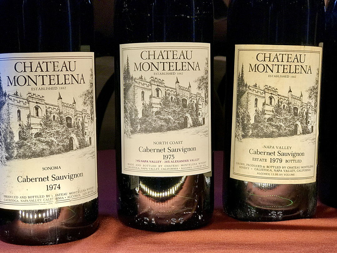 Chateau Montelena Dream Tasting