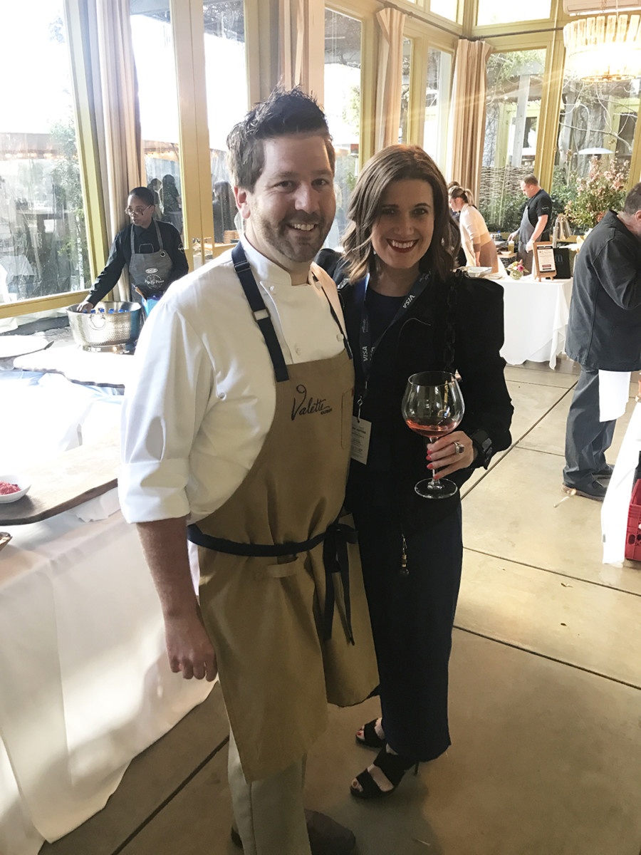 Chef Charlie Palmer's Pigs & Pinot Event