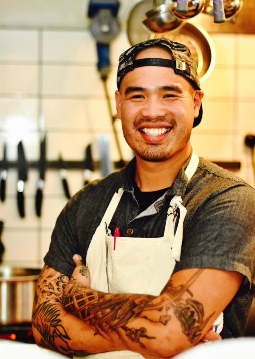 Chef David Tu