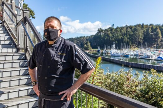 Interview with Chef Fabrice Jean-Pierre Dubuc of Noyo Harbor Inn