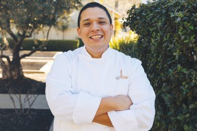 Interview with Chef Gustavo Rios of Solage's SolBar Restaurant, Napa Valley