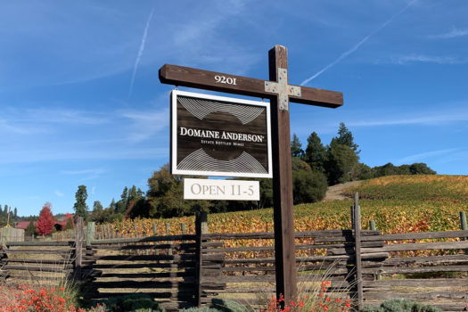 Anderson Valley's Fabulous Domaine Anderson Winery