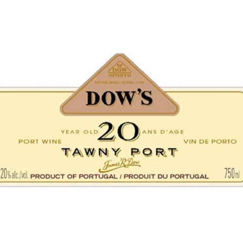 Dow's Tawny Porto 20 Aged in Oak