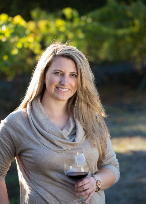 Winemaker Erica Stancliff