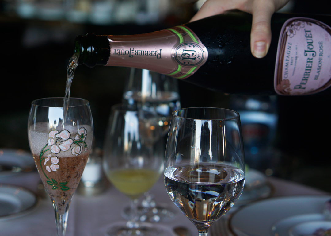 Rosé Champagne Wines