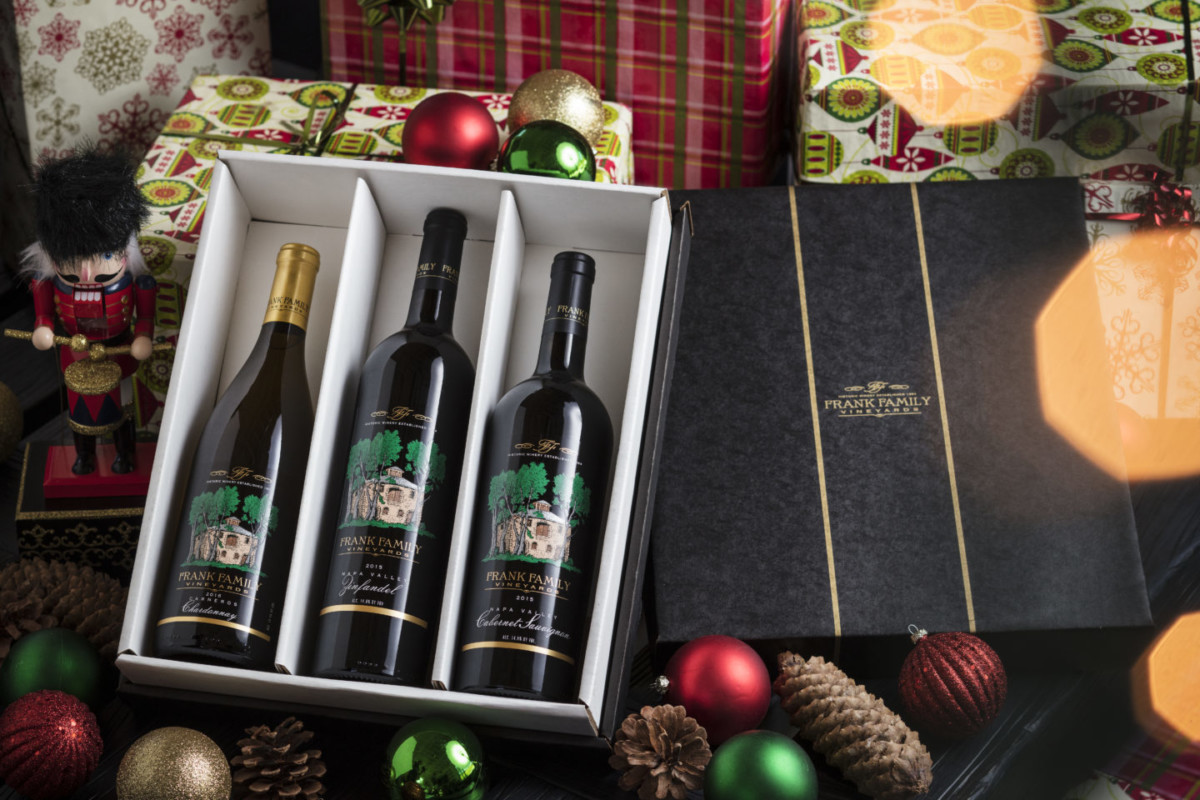 Frank Family Wines Gift Set