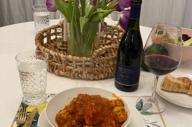 Meatballs & Pinot Noir with Gary Farrell Winery on Meatball Monday