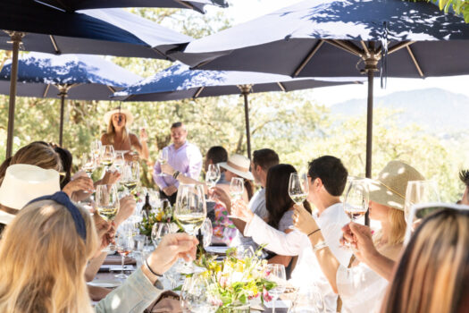 The Stunning Alfresco Luncheon at Copain Winery with The Supper Club