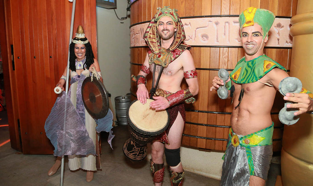 Halloween at Jordan Winery 2018 | Denial on The Nile