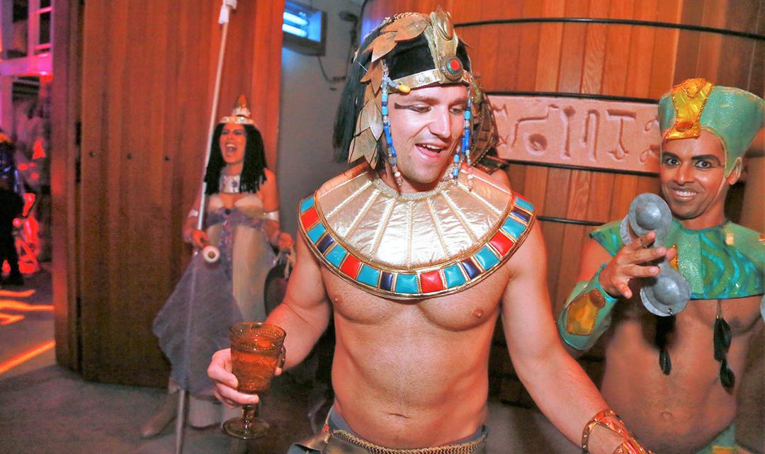Halloween at Jordan Winery 2018 | Denial on The Nile