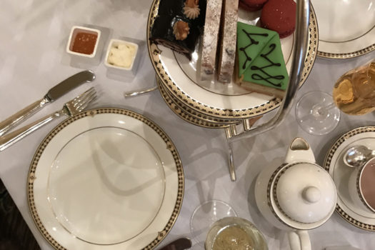 Holiday Tea at The Fairmont Olympic Hotel