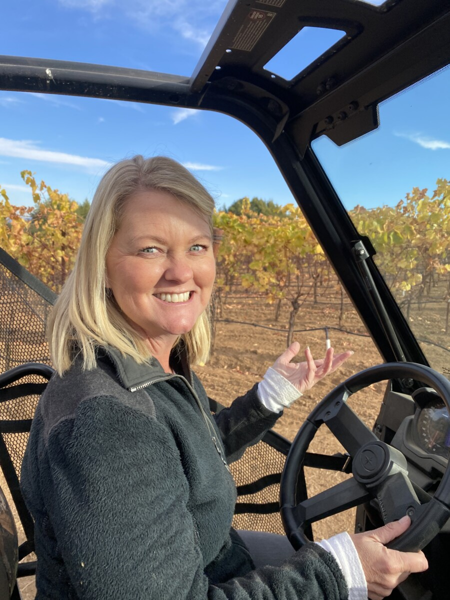 Winemaker Amy Chenoweth