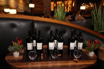 Blackbird Vineyards Winemaker Dinner at Charlie Palmer Steak Napa