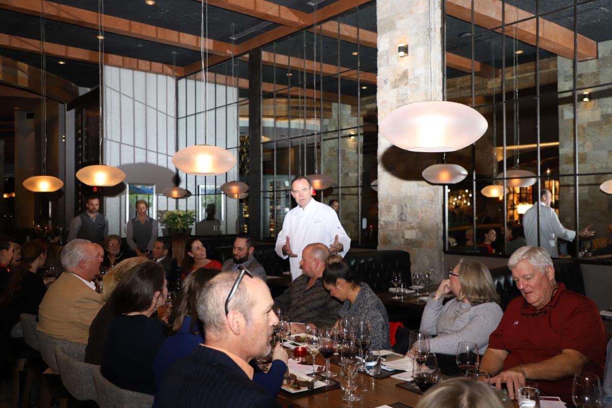 Charlie Palmer Steak Blackbird Vineyards
