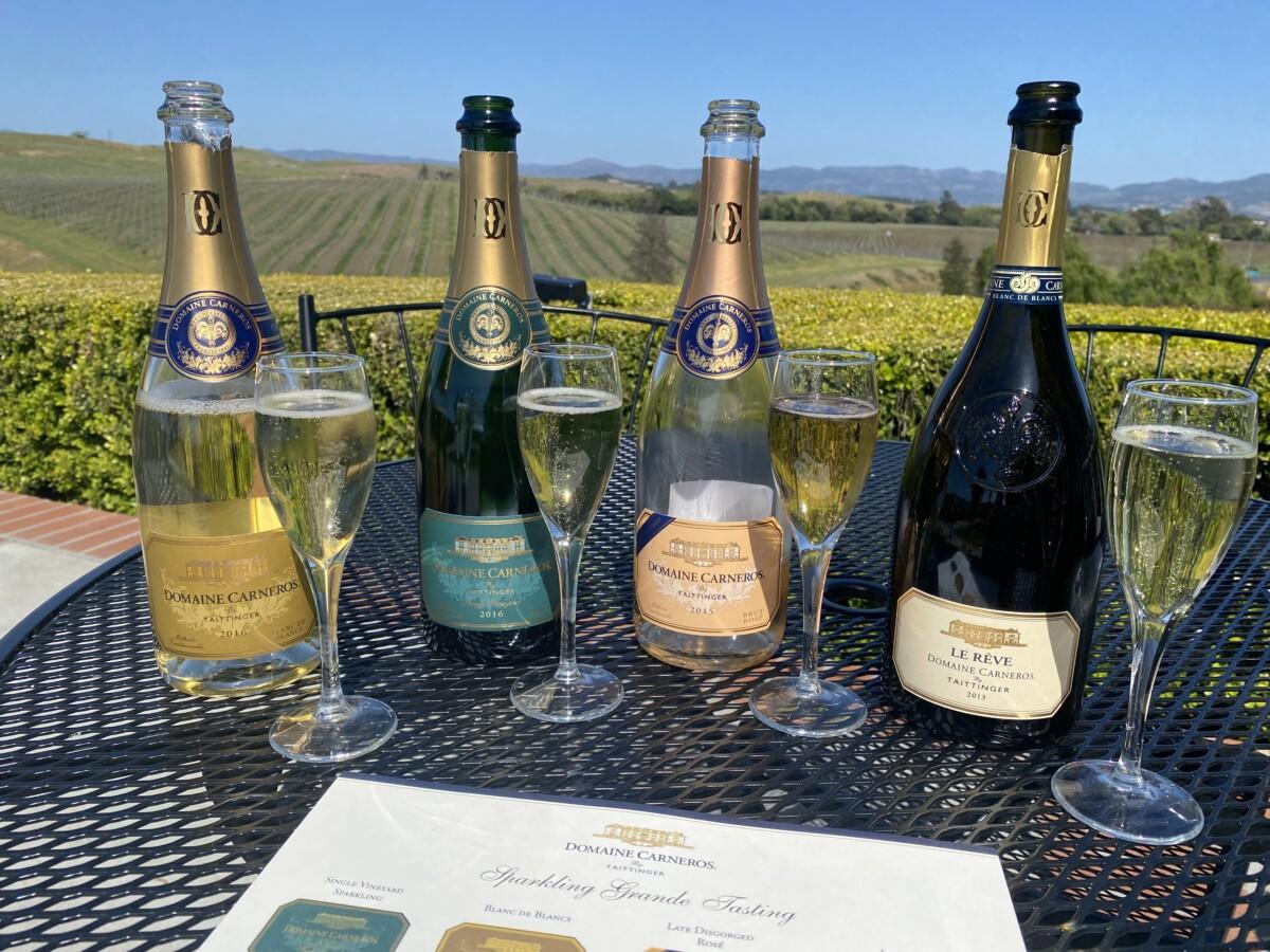 California Sparkling Wineries