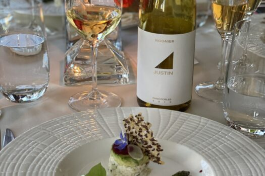 Justin Vineyards & Winery: 6 Course Restaurant Dinner