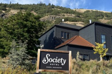 The Society Hotel Bingen Washington & My Lovely Stay