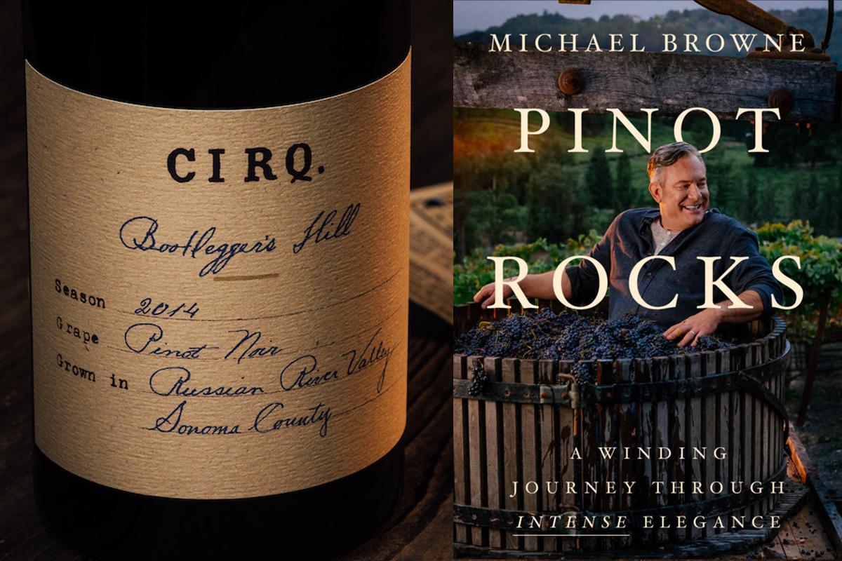 Michael Browne Wine Book