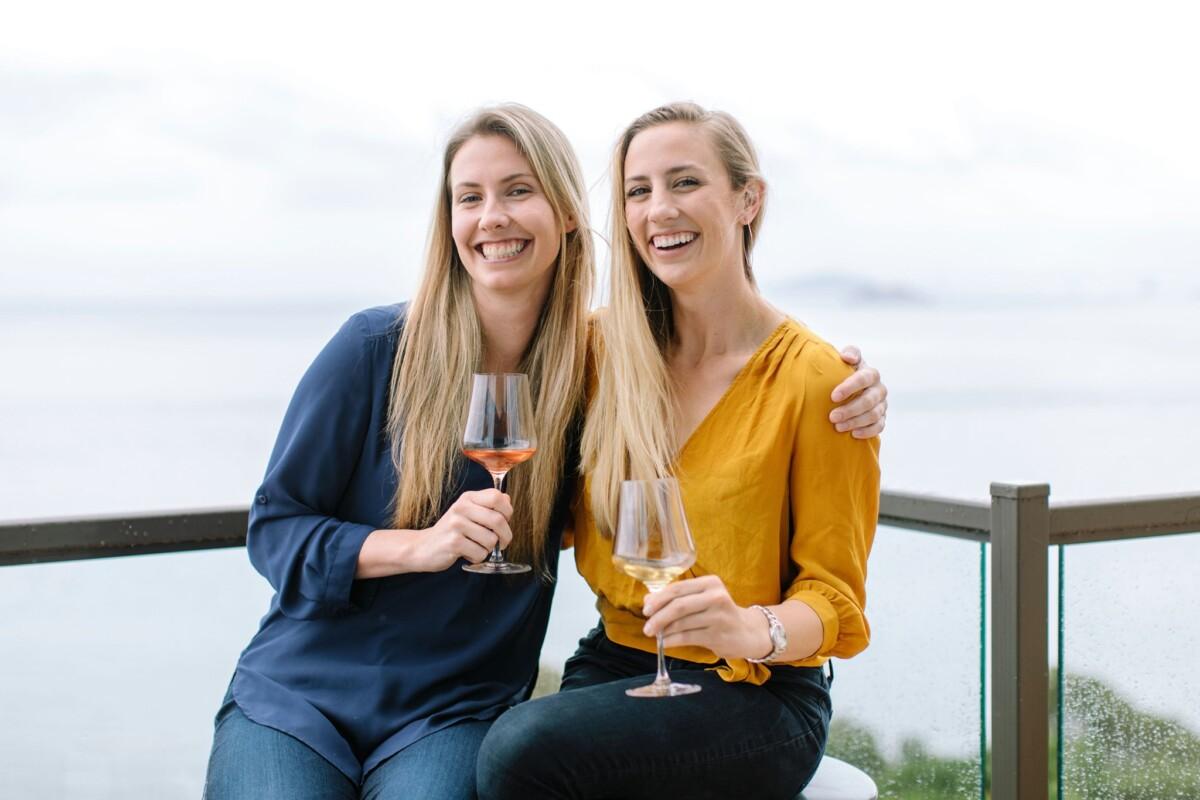 Maker Wines Founders SARAH HOFFMAN & KENDRA KAWALA OF MAKER WINES