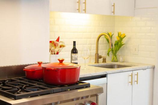 My San Francisco Kitchen Design and NEW Wolf Range