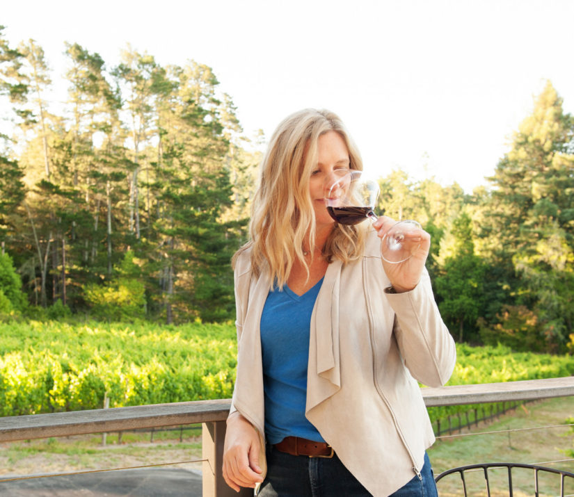 Winemaker Katy Wilson Anaba Wines & LaRue