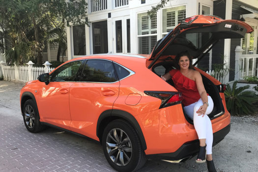 My Fourth of July In Seaside with my Lexus NX