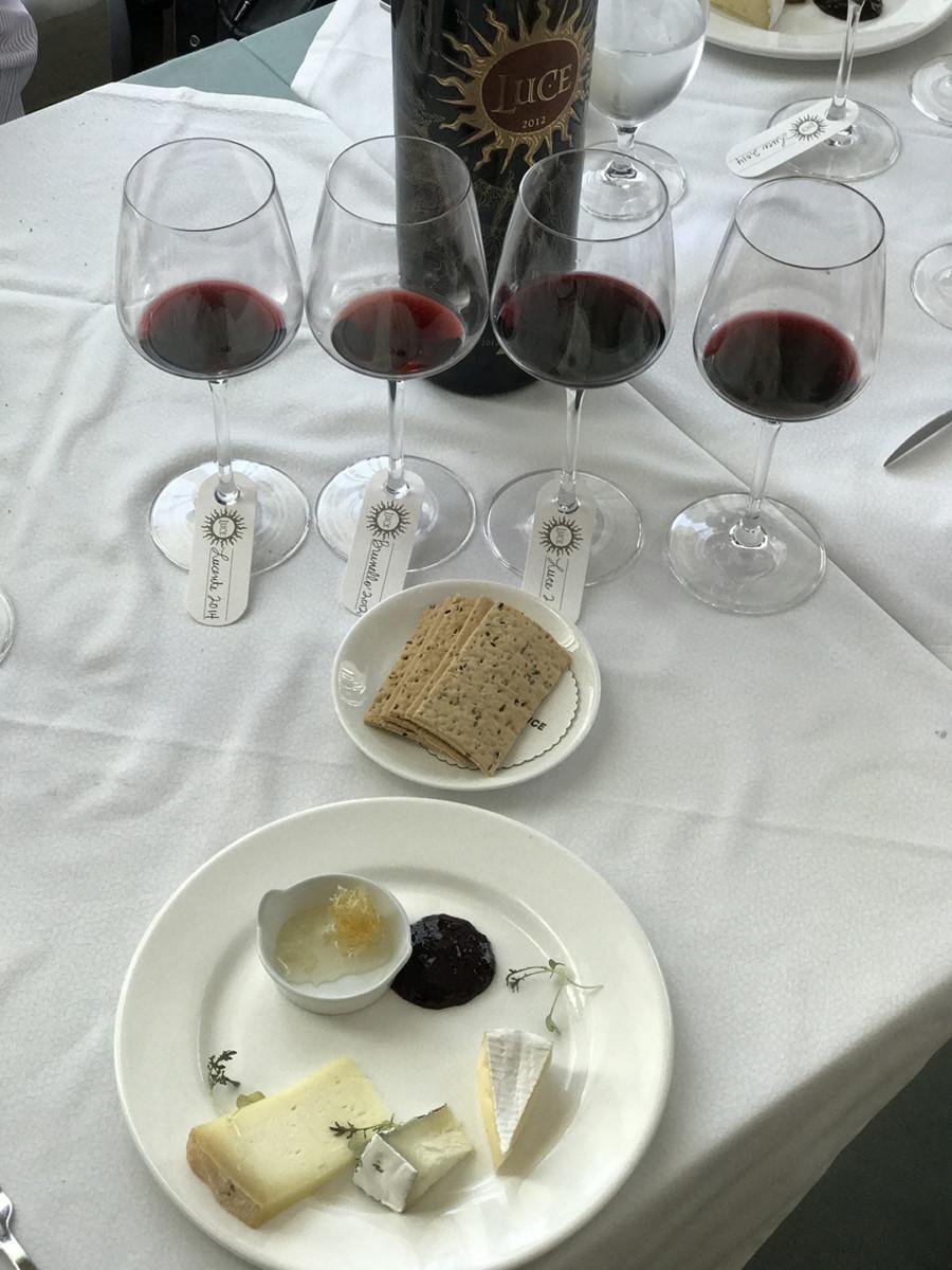 Luce della Vite Wine Tasting