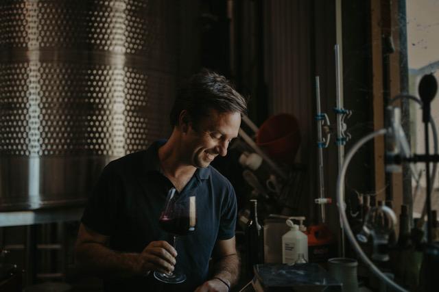 Winemaker Matt Dees