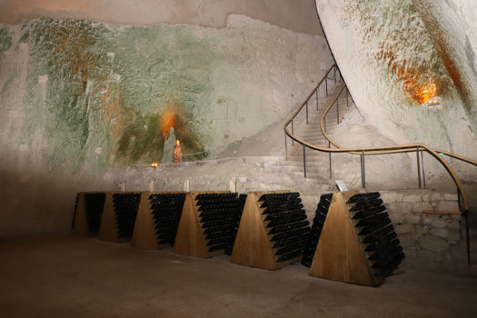 The Most Incredible Cave Tour at Maison Ruinart