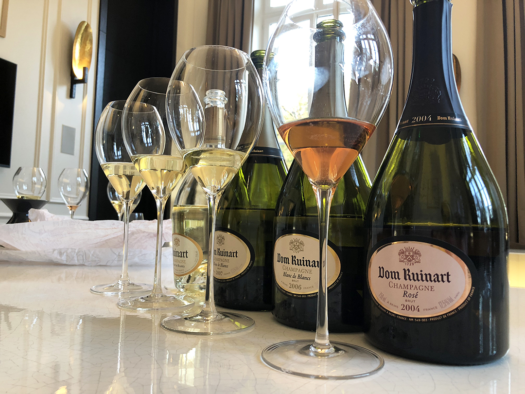 Maison Ruinart Tasting with Chef de Caves Frederic Panaiotis