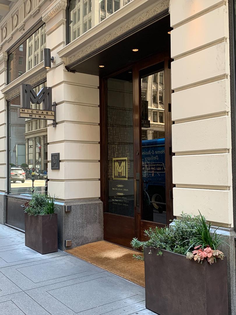 Michael Mina Restaurant San Francisco