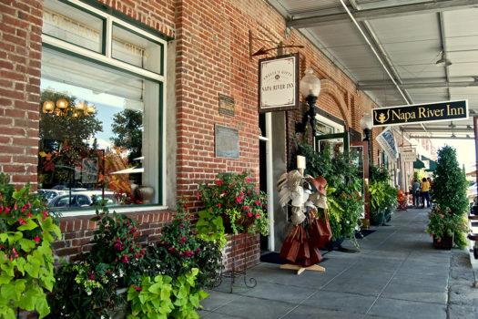 The Napa River Inn: The Quaintest Downtown Napa Hotel