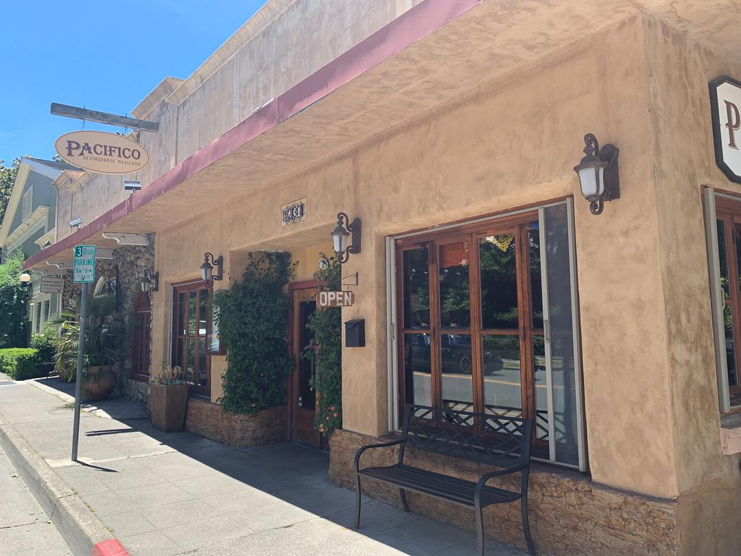 Pacifico Restaurant, Calistoga