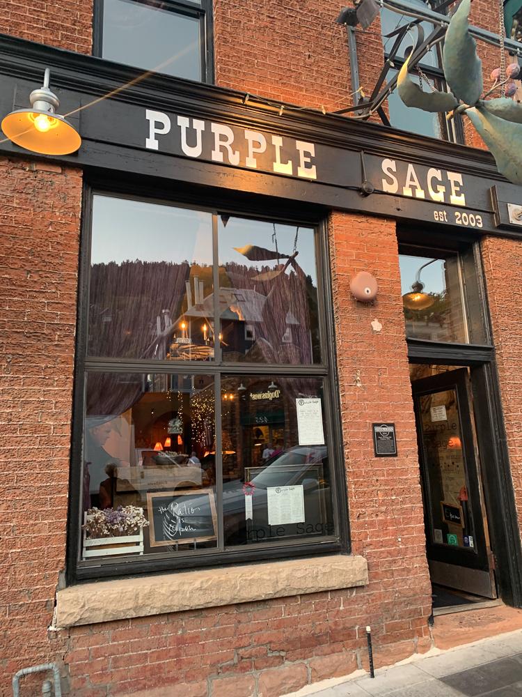 Purple Sage Park City