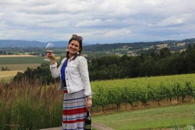 Penner-Ash Wine Cellars & My Wonderful Visit & Wine Tasting