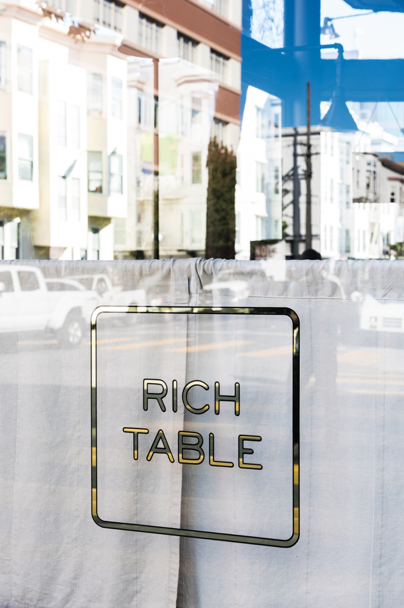 Rich Table Restaurant