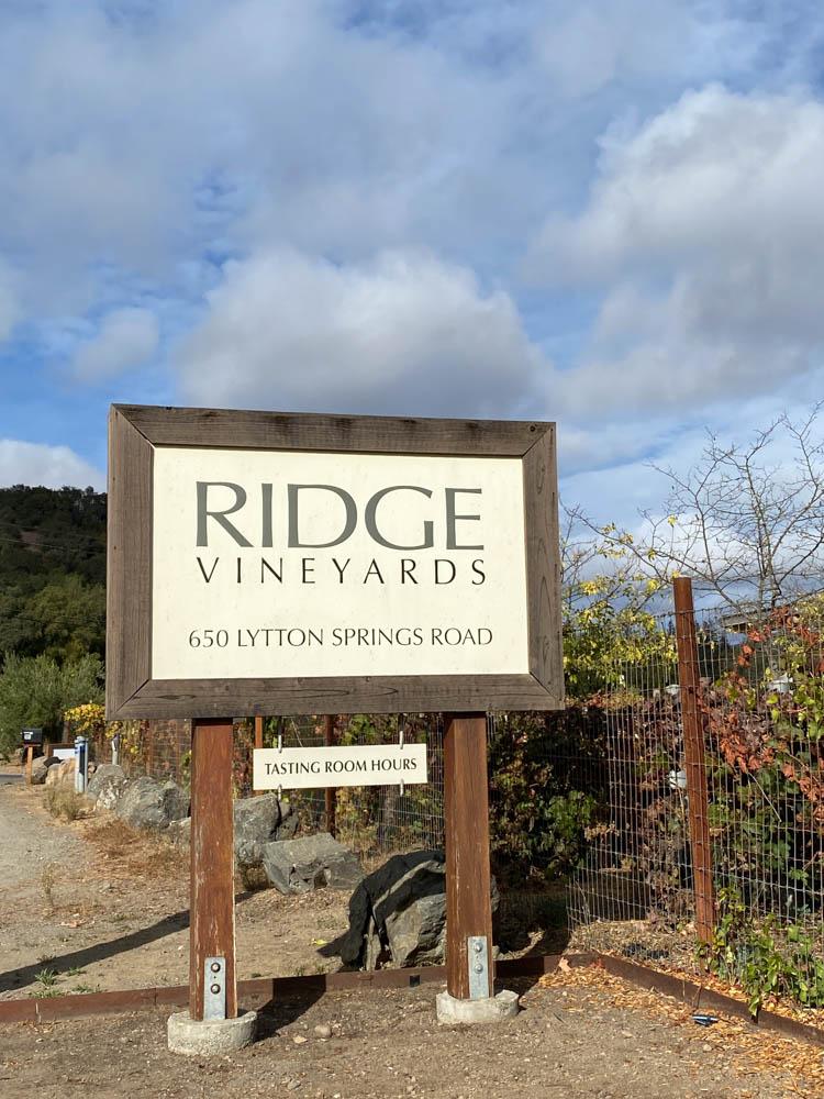Ridge Winery & Vineyards