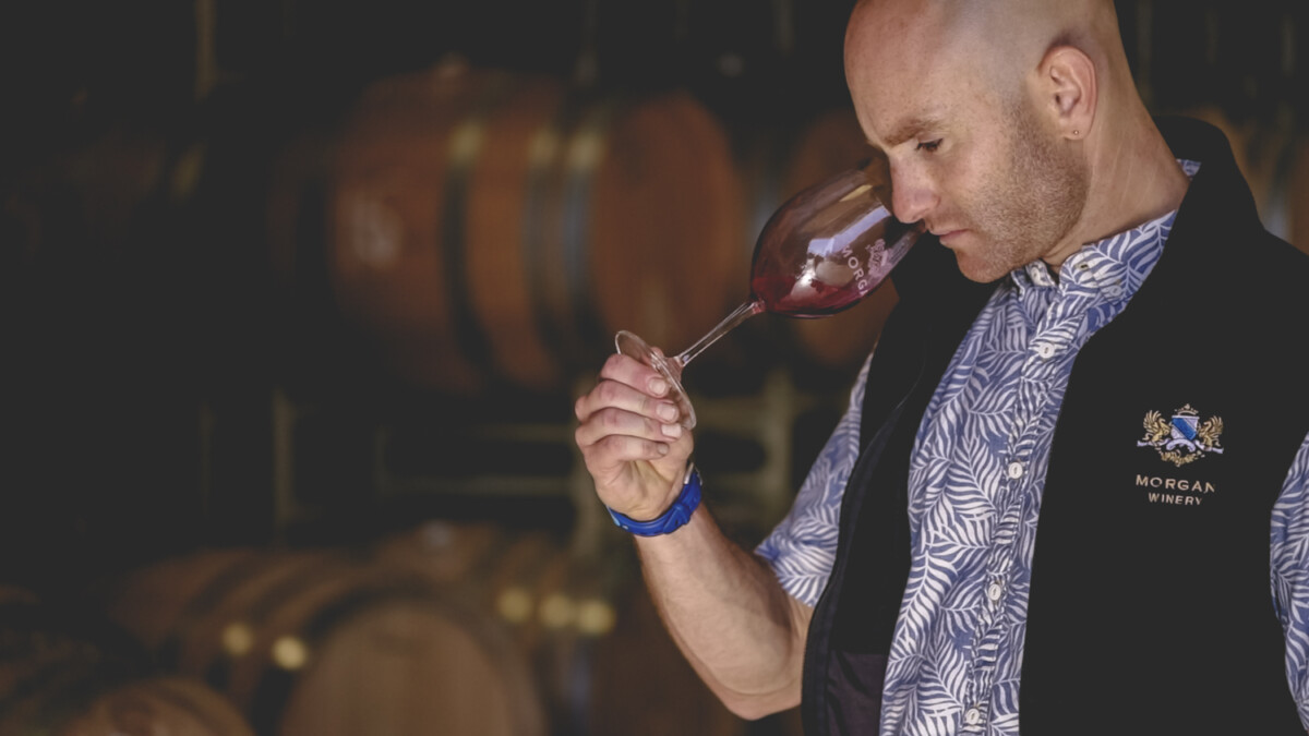 Winemaker Sam Smith of Morgan Wines