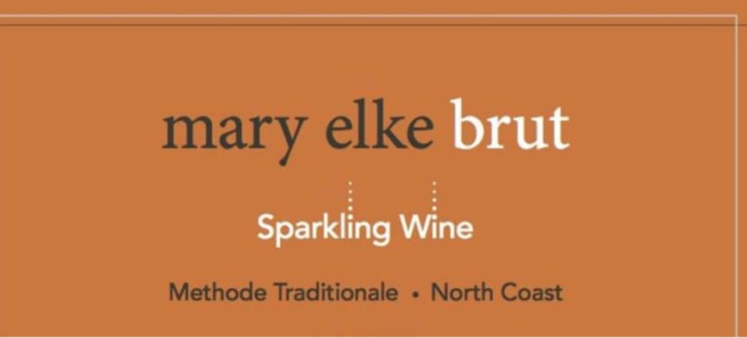 Mary Elke Brut Sparkling Wine