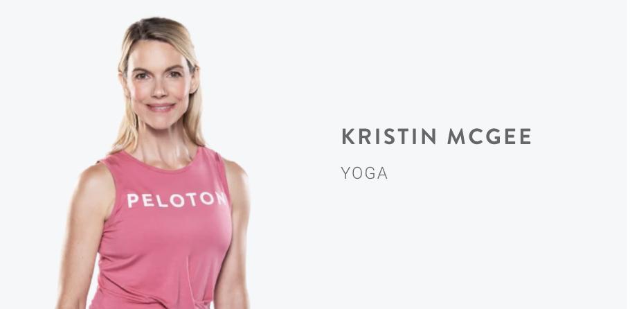 Peloton Instructor Kristin McGee