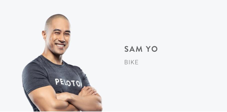 Peloton Instructor Sam Yo