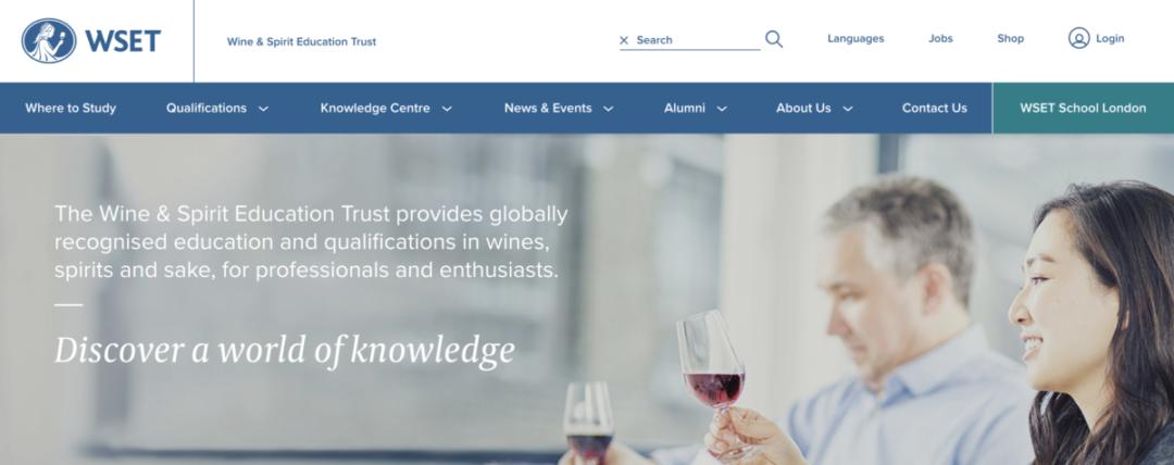 WSET Wine & Spirit Education Trust