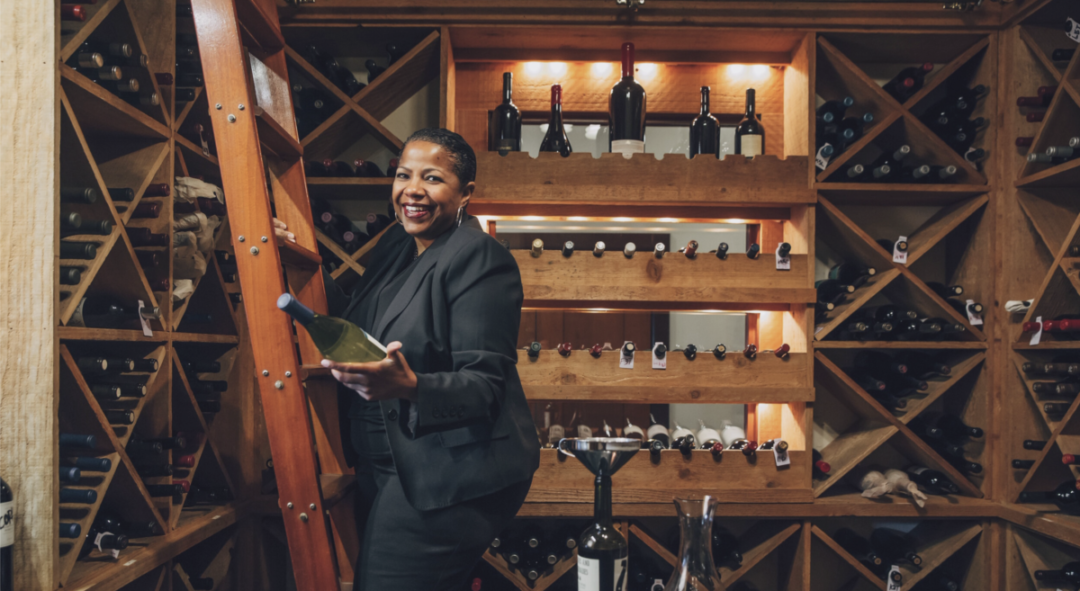Sommelier Tonya Pitts