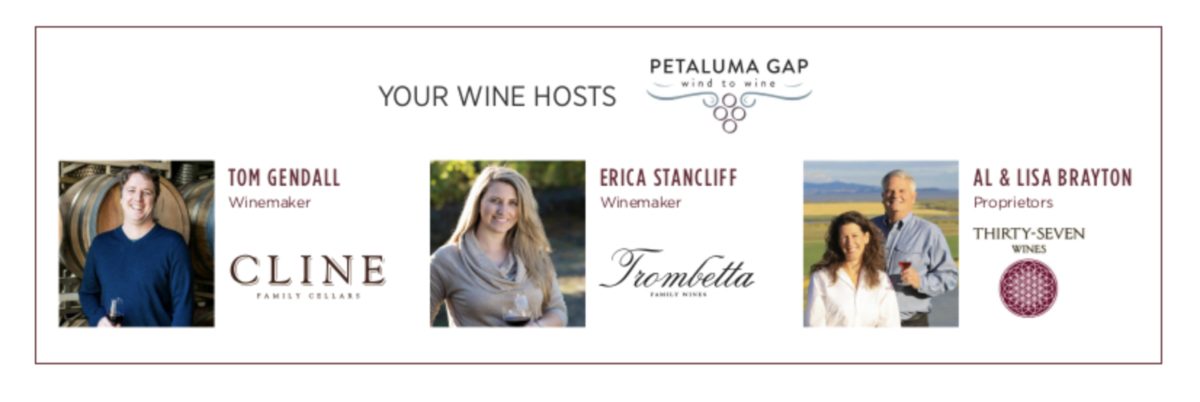 Petaluma Gap WineCruise