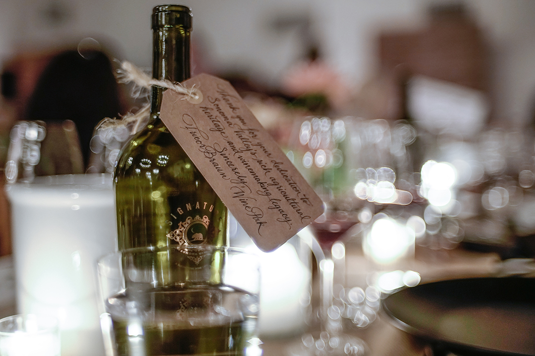 Signature Sonoma Wine Legend Dinner By Michael Woolsey