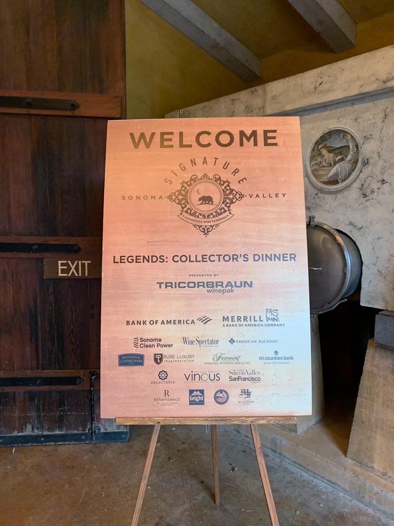 Signature Sonoma Legends Dinner