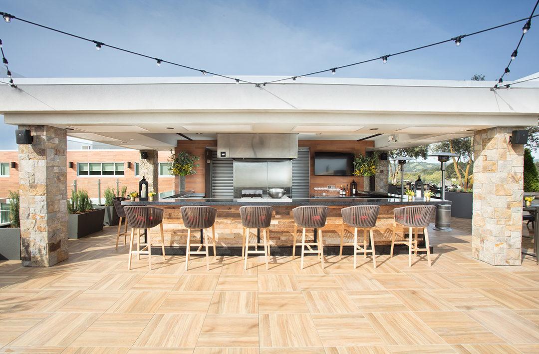 Sky & Vine Restaurant Archer Hotel